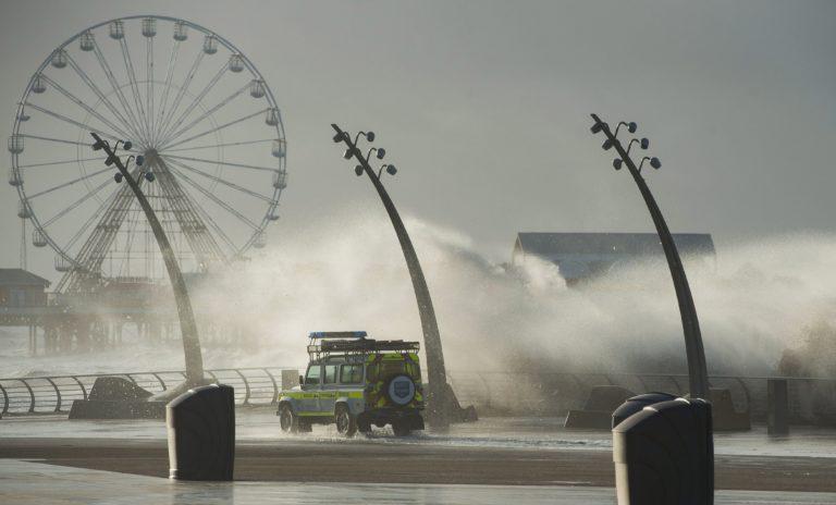 Súlyos vihar Nyugat-Európában
