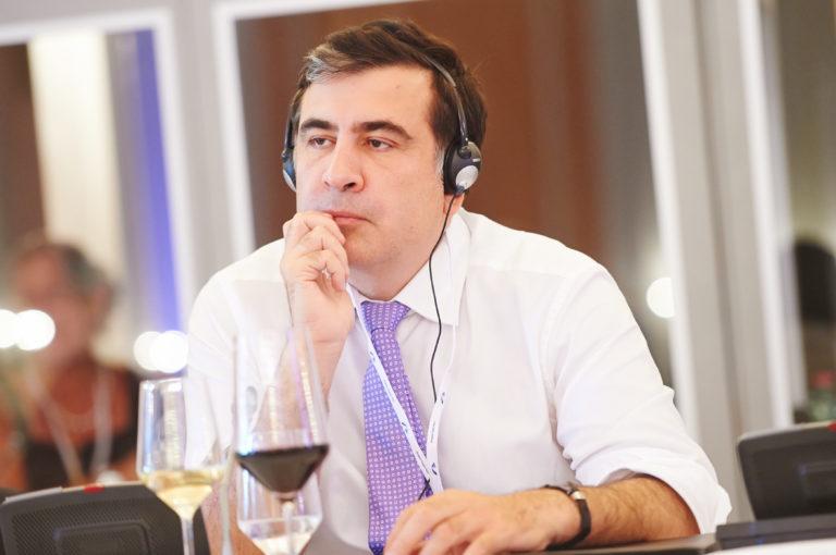 Grúzia ex elnöke hontalan