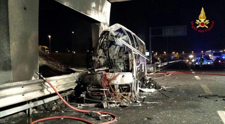 Veronai buszbaleset: káoszba fulladt a pszichológusi segítség