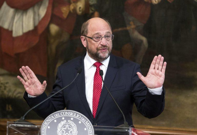Schulz 2025-re létrehozná az Európai Egyesült Államokat