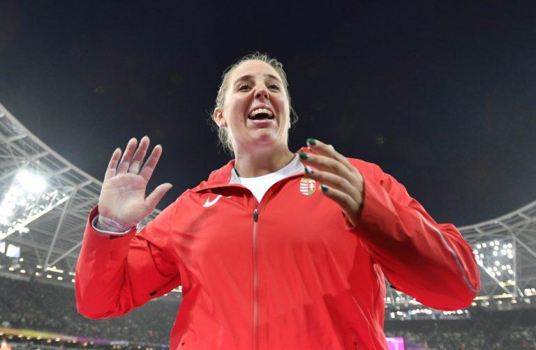 Ezüstérmes lett Márton Anita az atlétikai vb-n