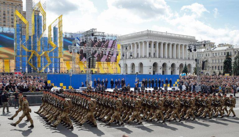 Robbanás Kijevben, a függetlenség napi ünnepségen