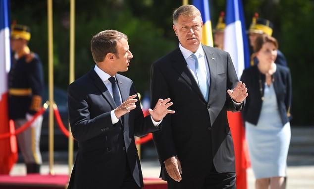 Macron Bukarestben: jogos Románia elvárása, hogy Schengen-tagállammá váljon