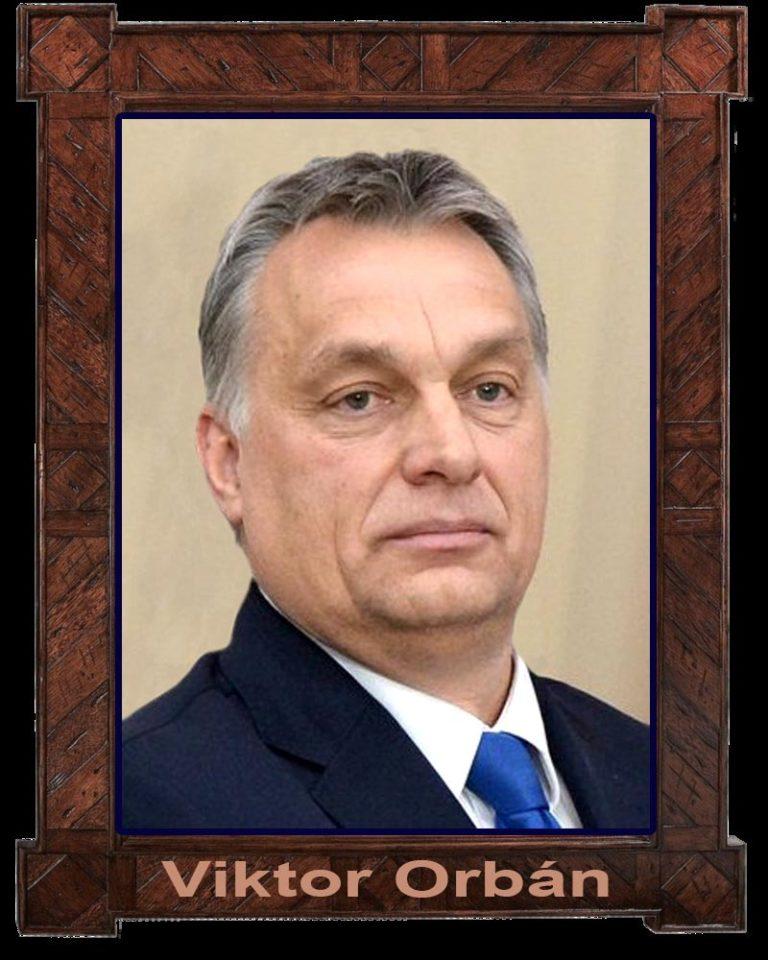 Egy szerb twitter: Orbán Viktor képe a kávézók falán