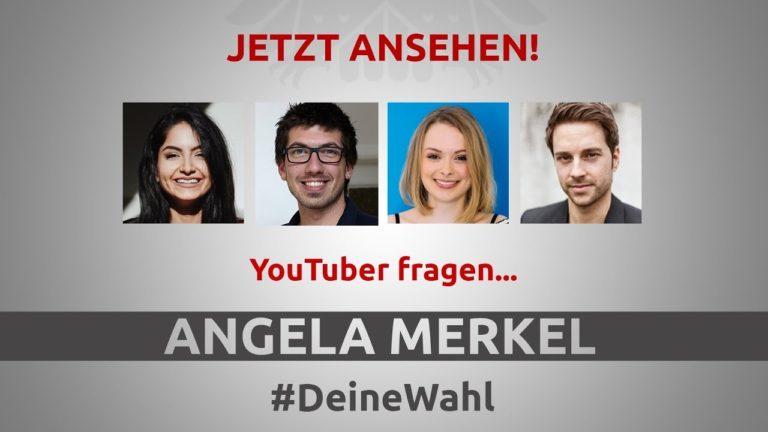 Youtuberek kérdezhették Angela Merkelt