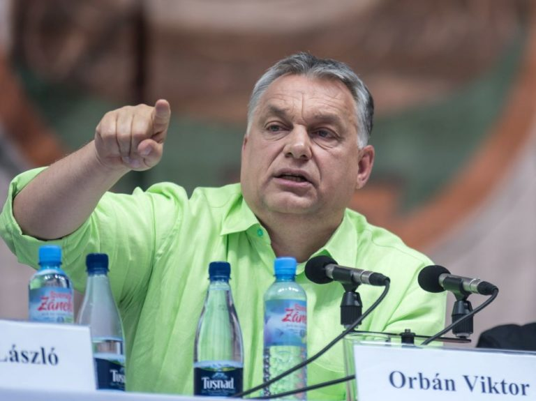 Pénzt kér Orbán a híveitől a Soros elleni kampányhoz