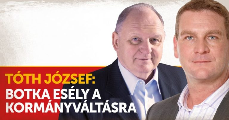 Tóth József támogatja Botkát, de funkció nélkül