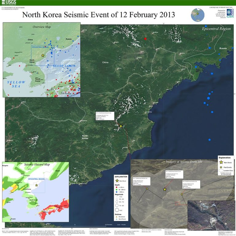 Földmozgás Észak-Koreában – az ok még nem ismert