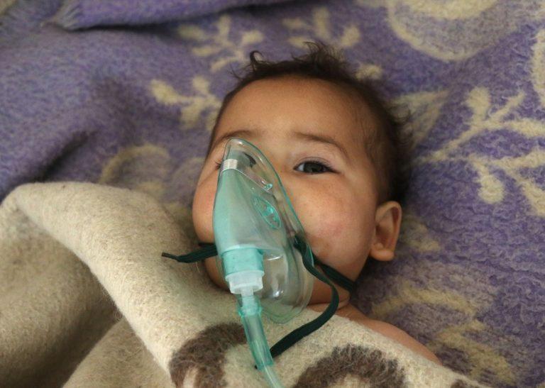 A szíriai rezsim támadt mérges gázzal