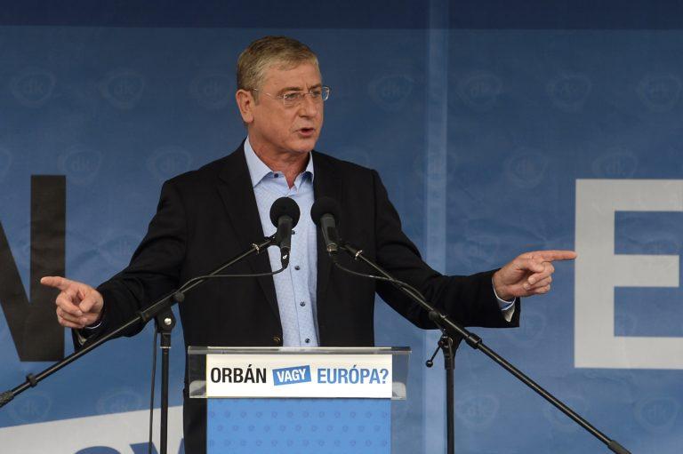A DK nem fogadja el, hogy Gyurcsány ne legyen rajta a közös ellenzéki listán