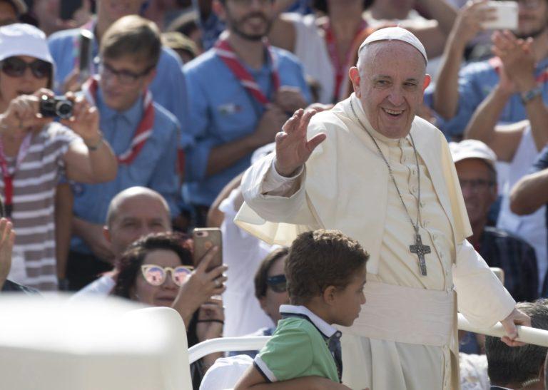Rabbikkal találkozott Ferenc pápa