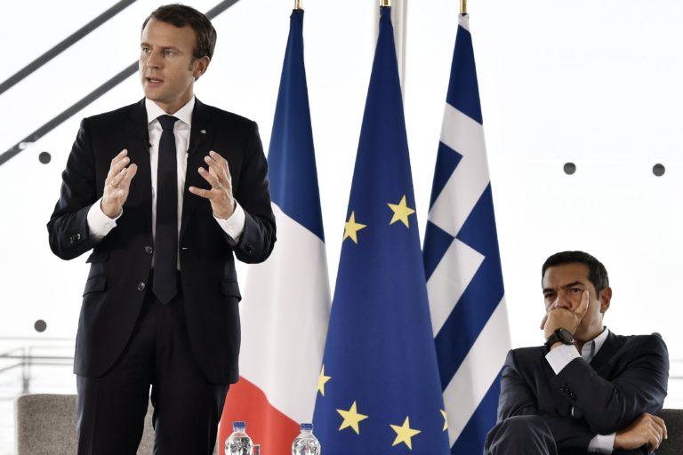 Macron Athénban: Megújult Európai Unió kell