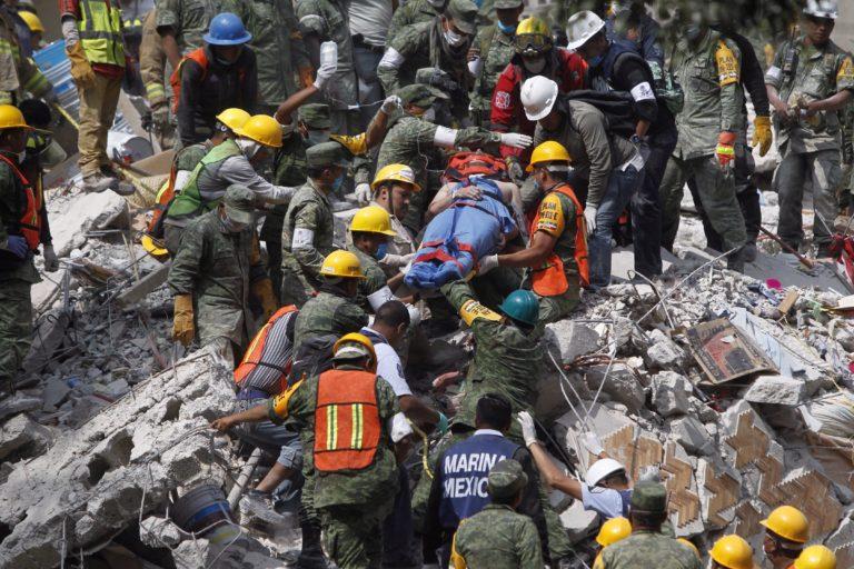 Egész városokat pusztított el a mexikói földrengés