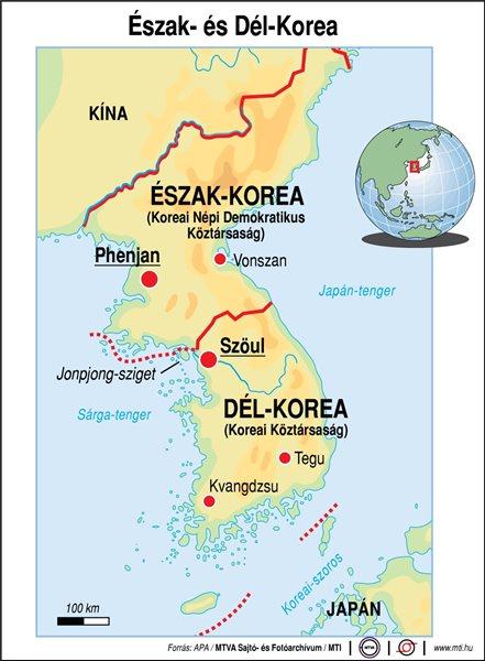 észak korea térkép Interkontinentális ballisztikus rakéta Észak Korea nyugati  észak korea térkép