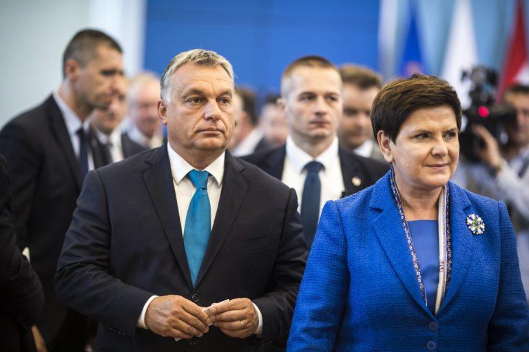 Teljes egyetértés Orbán és Szydlo között menekültügyben