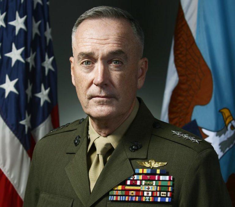 Dunford tábornok nem lépne ki az iráni nukleáris egyezményből