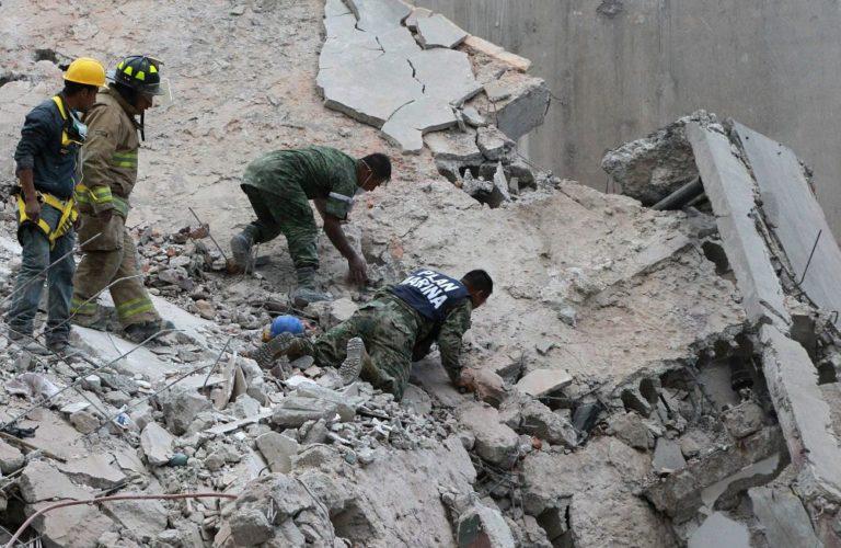 Kétszáznál is több halottja van a mexikói földrengésnek