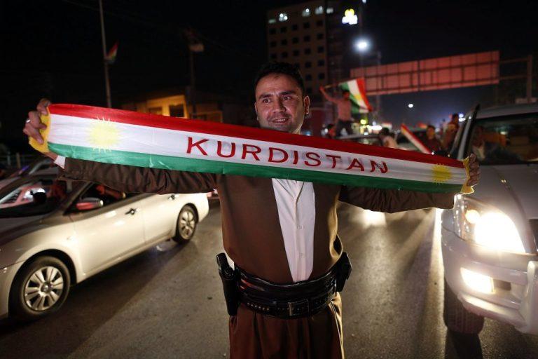 A kurdok a függetlenségre szavaztak