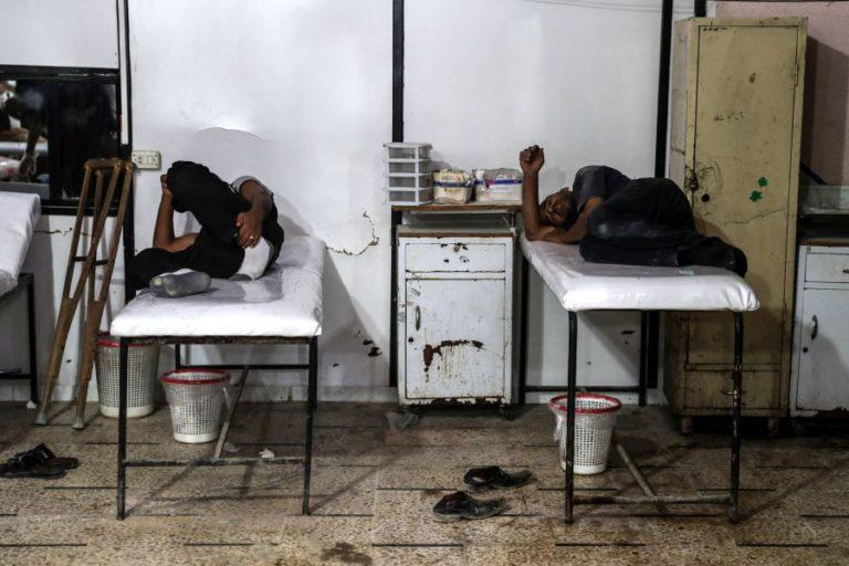 Harci gázt gyártó üzemet támadott Szíriában az izraeli légierő