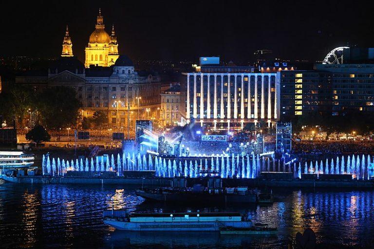 A budapesti óriástoronyugró helyszín az év sporthelyszíne