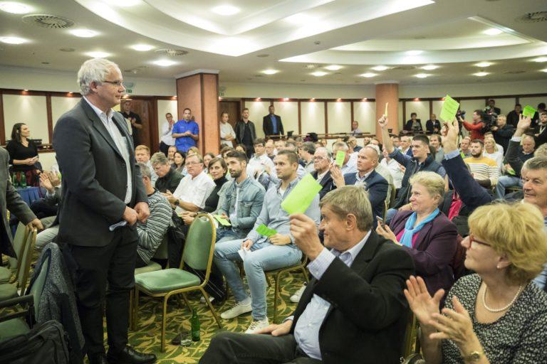 Wladár Sándor a MÚSZ elnöke