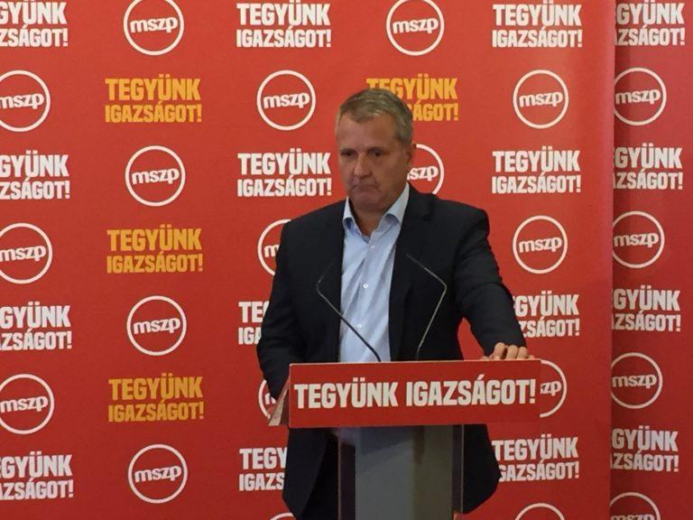 Molnár Gyula: Aki ma ünnepel, az nem barátja az MSZP-nek