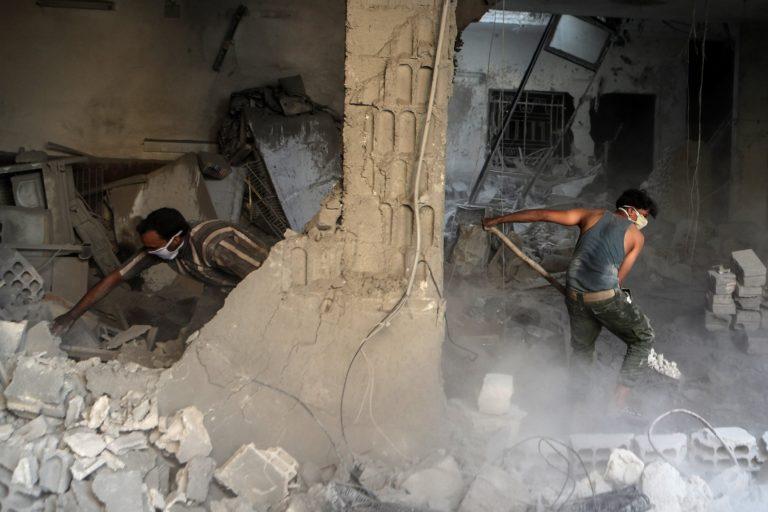 Megint gyerekek haltak meg egy szíriai orosz bombázásban