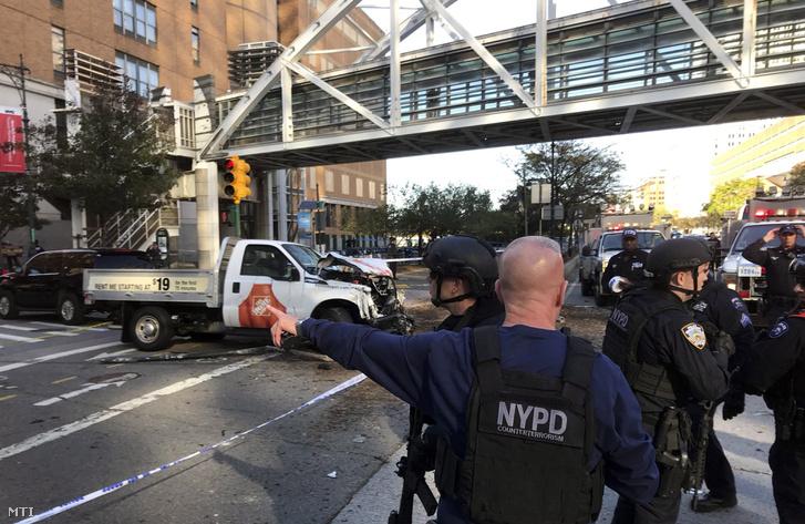 Manhattan: gázolás, lövöldözés, több áldozat