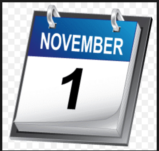 Változások november 1-jétől