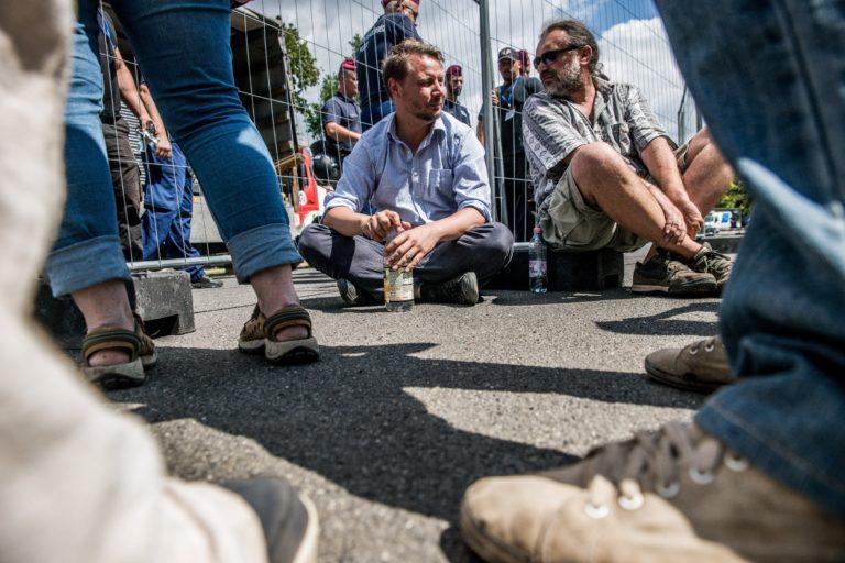 Közmunkára ítélték a ligetvédőt bántó biztonsági őrt