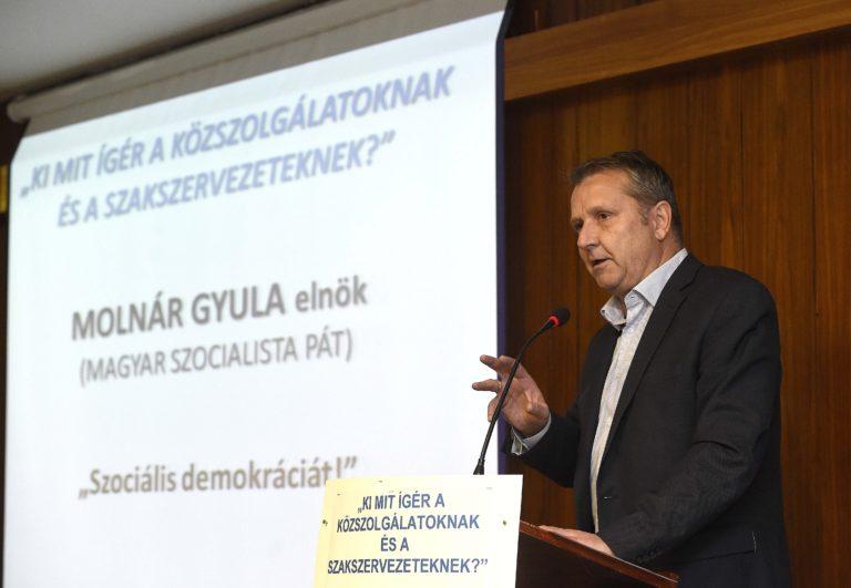 Molnár Gyula a DK-val való megegyezésről beszélt