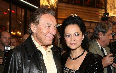A cseheknél Karel Gott és Lucie Bílá az örök érték