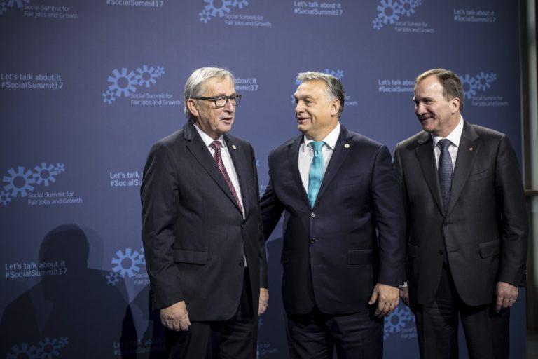 """A """"magyar modellt"""" dicsérte Orbán az EU-csúcson"""