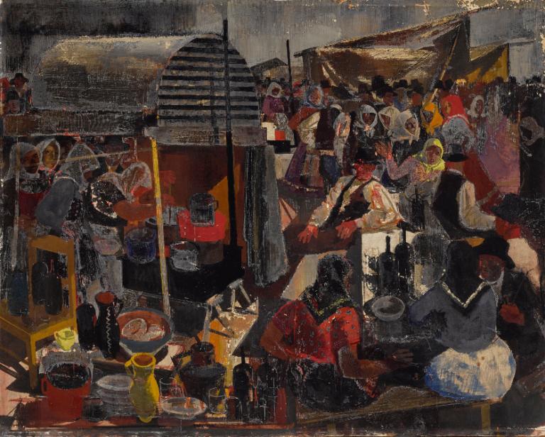 Magyar festményeket árvereztek a Sotheby'snél
