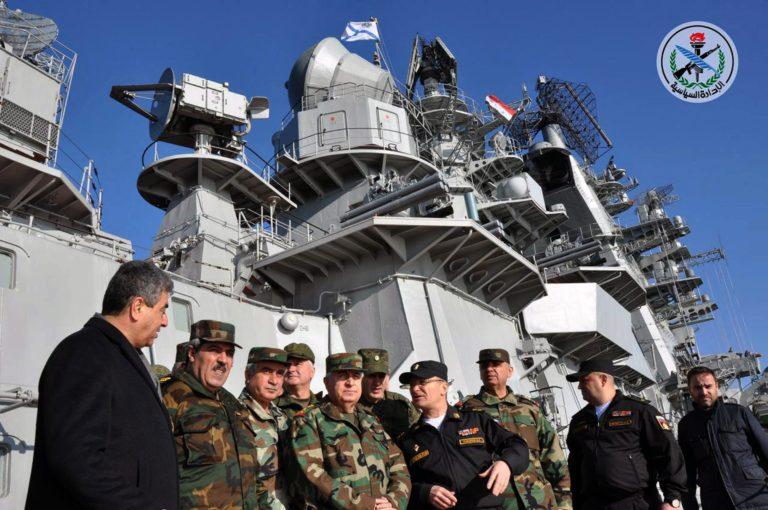 Oroszország jelentősen bővíti flotta támaszpontját Szíriában