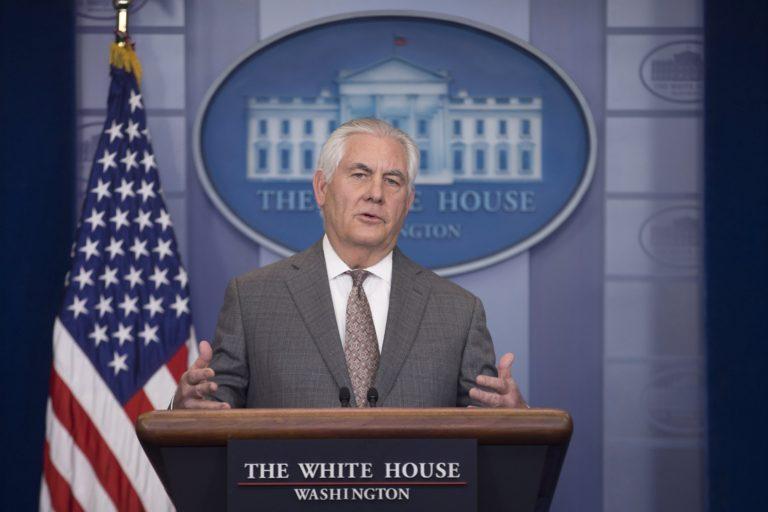 Az amerikai külügyminiszter megérti a lengyel döntést a haláltáborokról