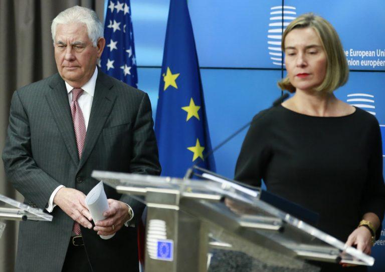 Kínos nézeteltérések Európa és Amerika között – Tillerson Brüsszelben
