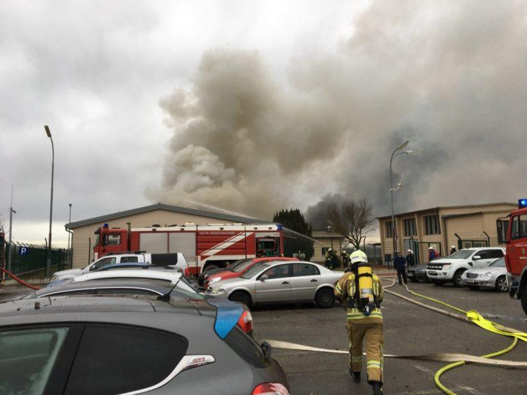 Lángokban állt Ausztria legnagyobb földgáz terminálja
