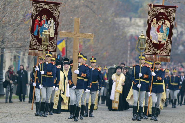 Eltemették I. Mihály román királyt