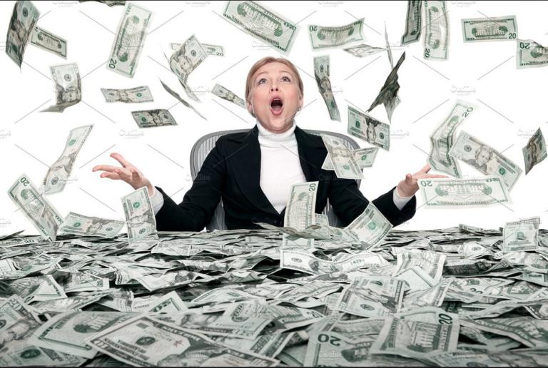 Szétszórtak egy csomó pénzt