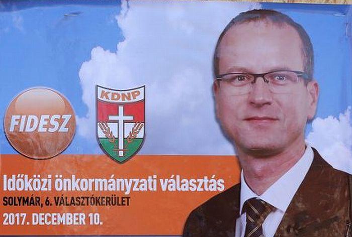 A Fidesz jelöltje nyert Solymáron