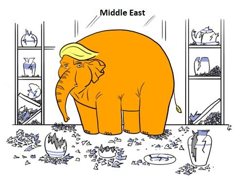 """Elefánt a vízipipaboltban – Trump """"Jeruzsálem-lépésének"""" esetleges negatív következményei"""