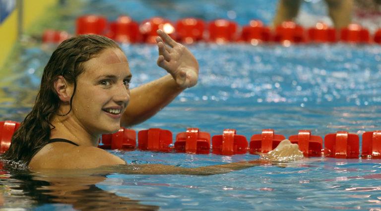 Hosszú Katinka aranyérmes 400 vegyesen
