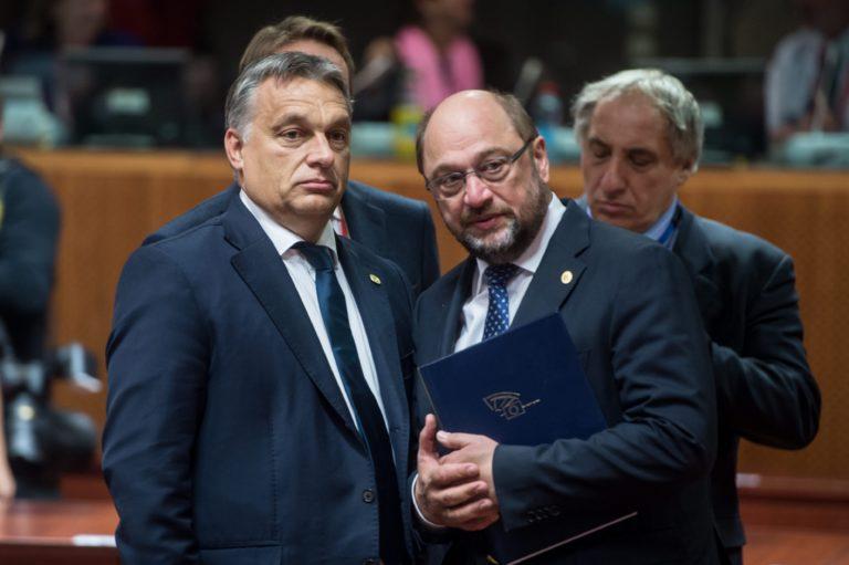 Martin Schulz üzent Orbánnak: az EU nem szupermarket