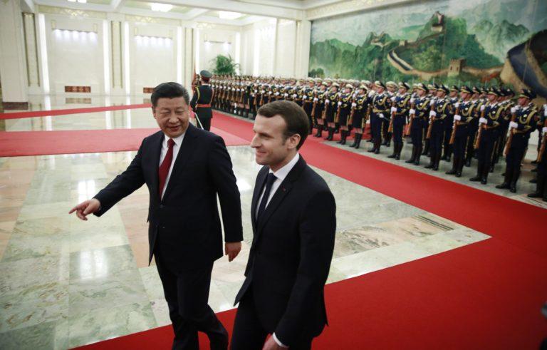Jó üzletet kötött Macron Pekingben