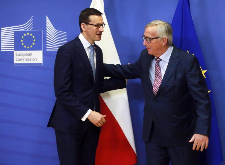 Csökkentené az Unióval való feszültséget a lengyel kormányfő