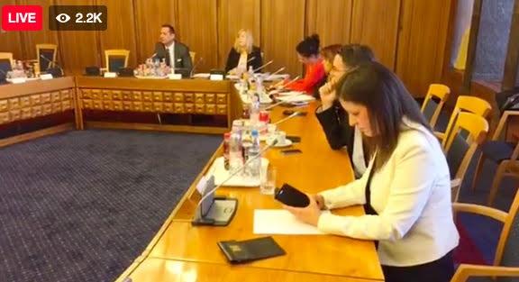 Németh Szilárd vezetésével a fideszesek kivonultak a nemzetbiztonsági bizottság üléséről