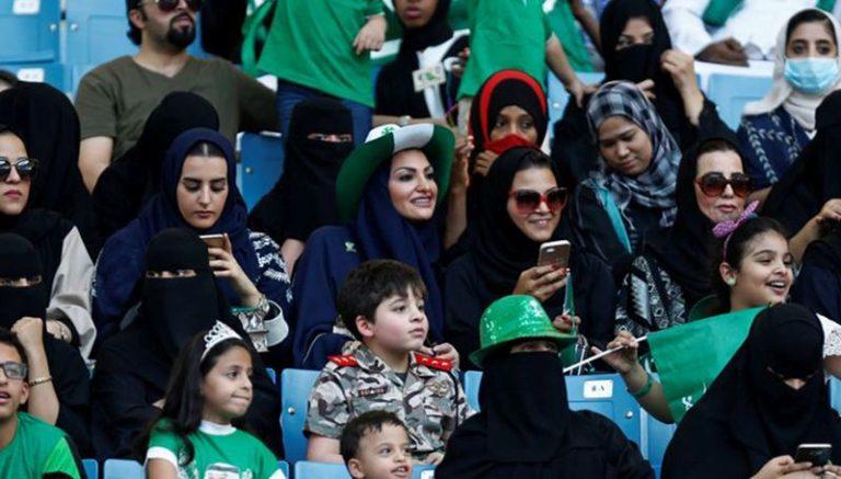 Először szurkolhatnak a szaúdi nők futballmeccsen