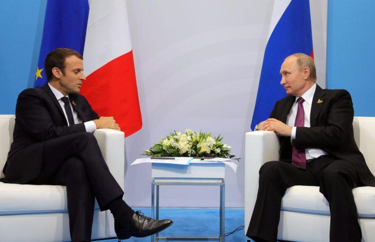 Szíriáról tárgyalt Putyin és Macron