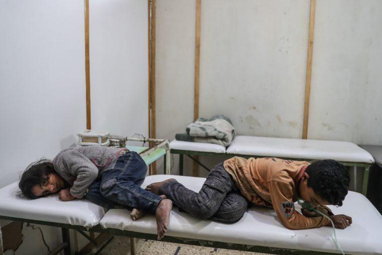 Megint vegyi fegyverrel támadtak a szíriai kormánycsapatok